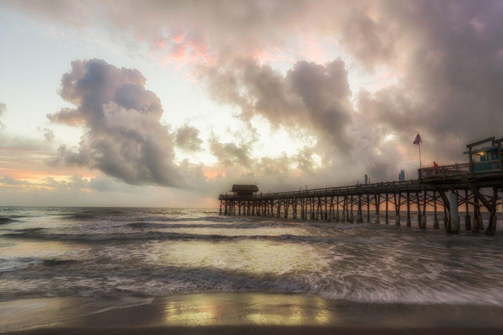 Cocoa Beach Pier Dawn, Cocoa Beach, Florida