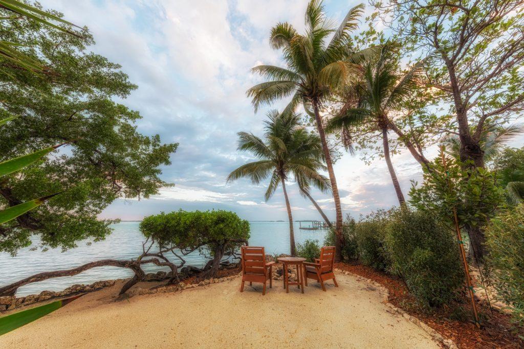 Little Palm Island Fire Pit, Florida Keys