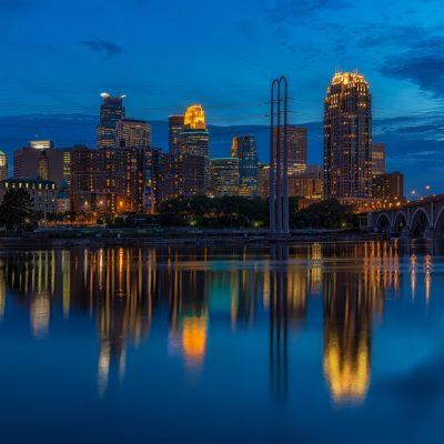 Minneapolis Reflection, Minneapolis, Minnesota
