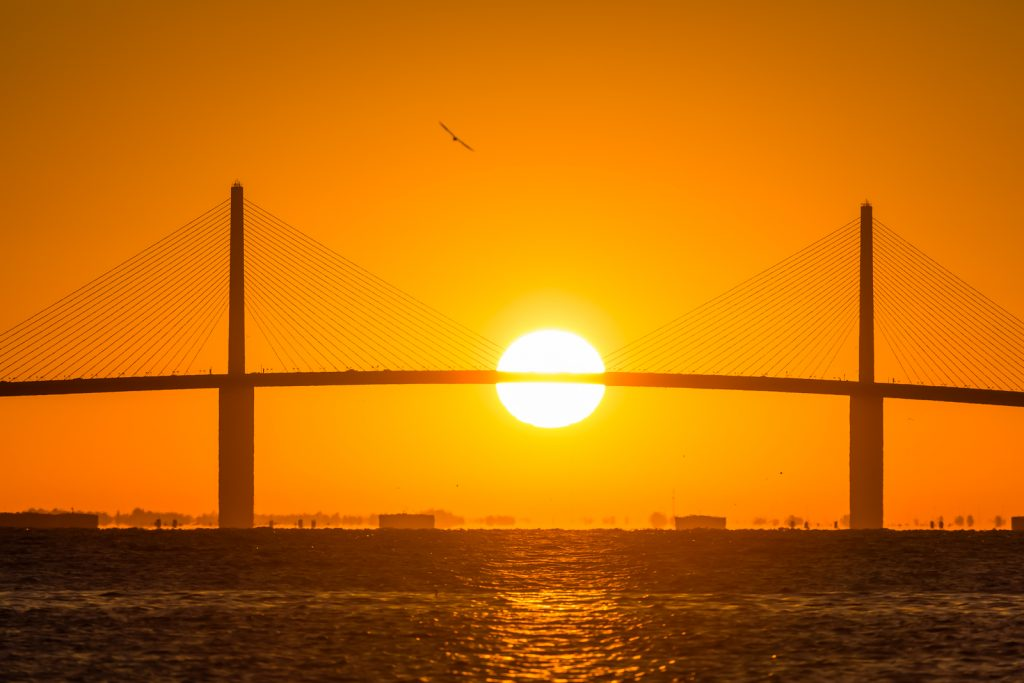 Skyway Sunrise 4, Fort Desoto, Tierra Verde, Florida