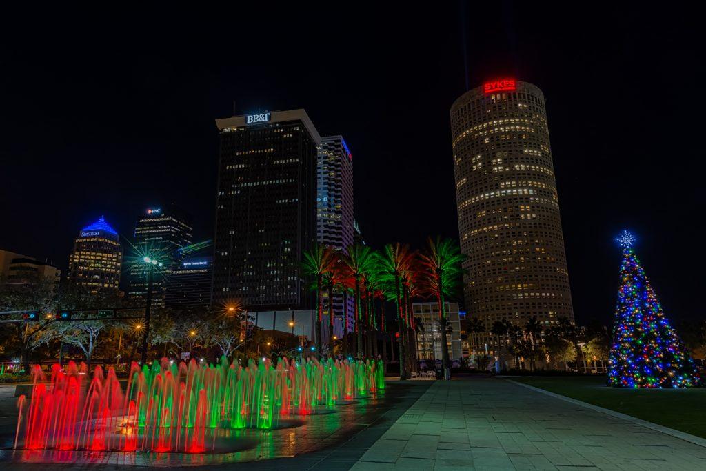 Fountains Angled, Tampa, Florida