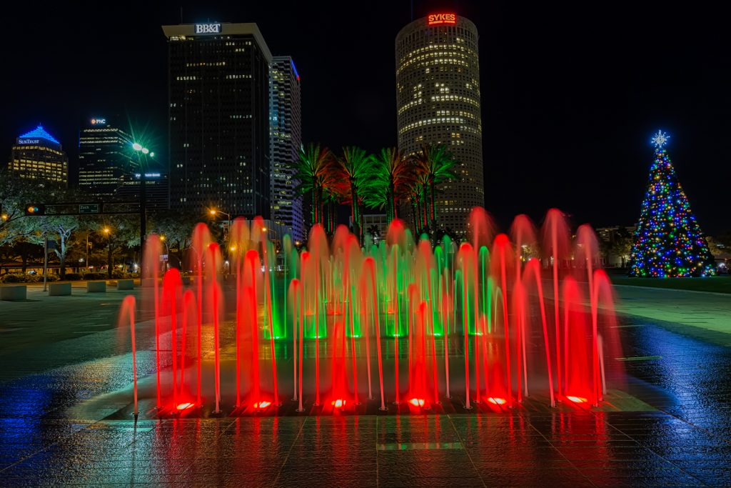 Fountains Medium, Tampa, Florida