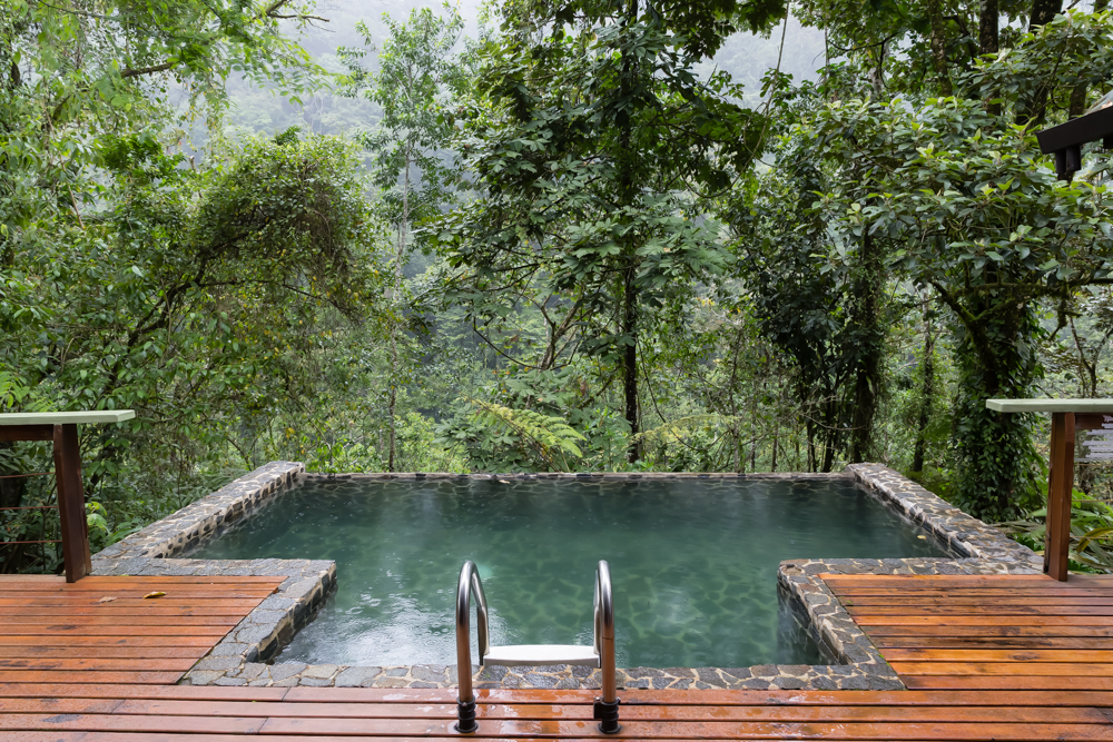 Plunge Pool, Pacuare Lodge, Costa Rica