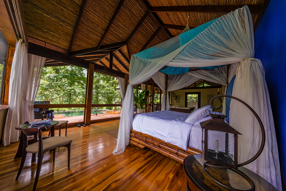 Bedroom, Pacuare Lodge, Costa Rica
