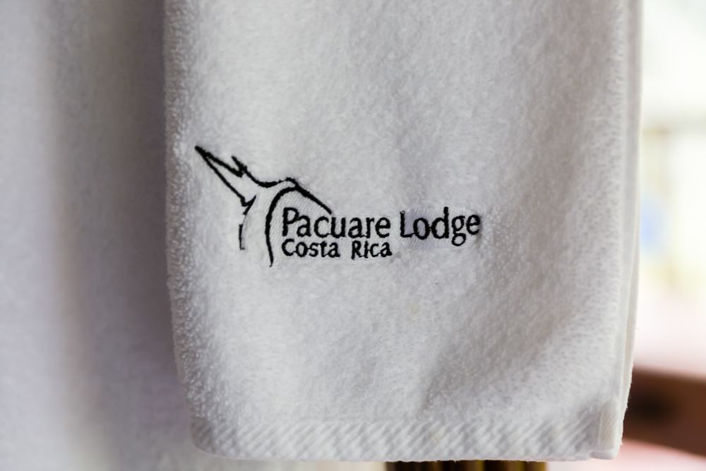 Towel, Pacuare Lodge, Costa Rica