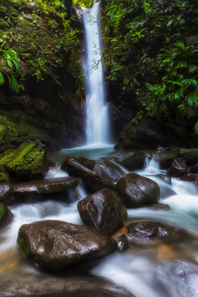 Waterfall, Pacuare Lodge, Costa Rica