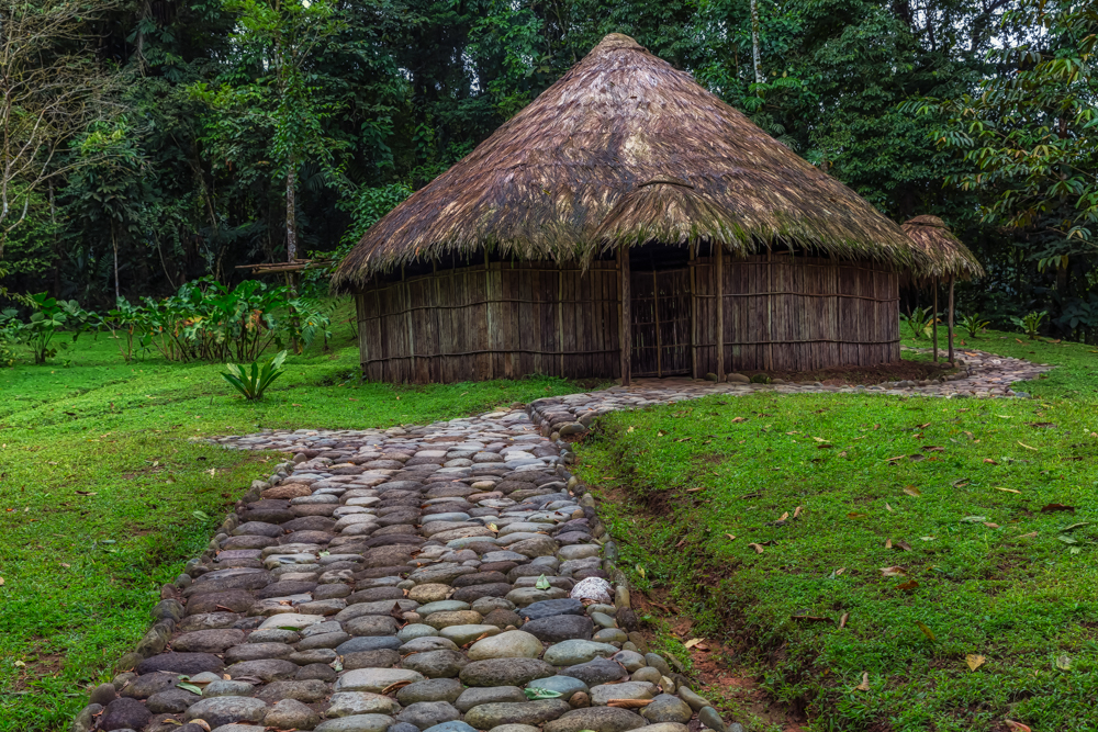 Cabecar Indian Home, Pacuare Lodge, Costa Rica