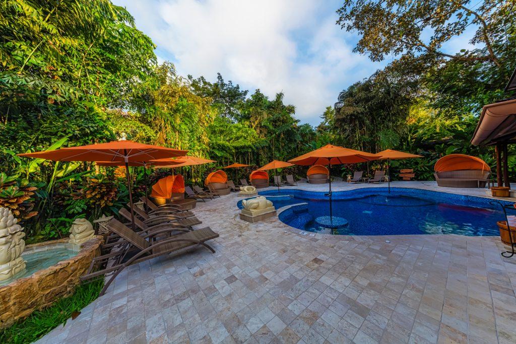 Another pool, Nayara Hotel, La Fortuna, Costa Rica