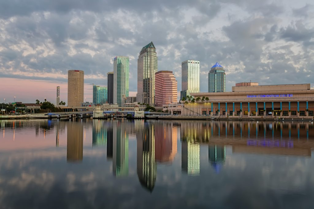 Tampa Picture Perfect Reflection Wide, Tampa, Florida