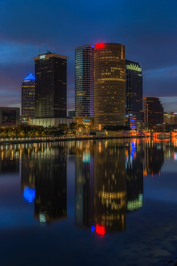 Tampa Towers Tight Vertical, Tampa, Florida