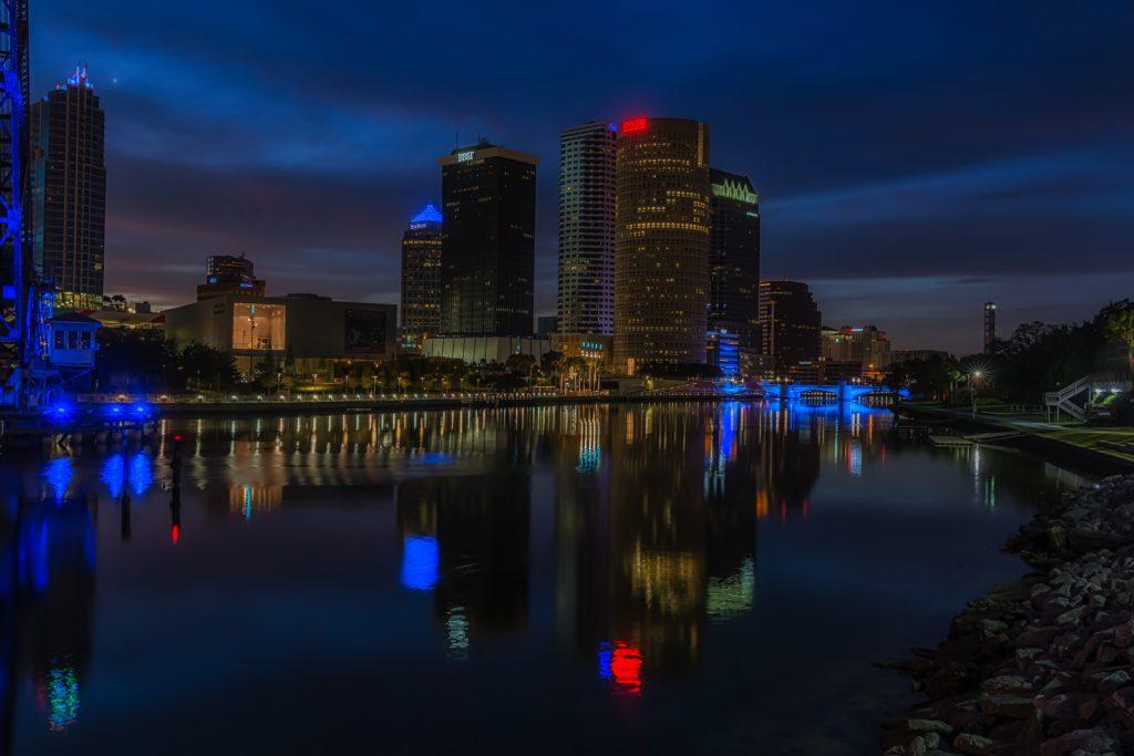 Early Morning Reflection, Tampa, Florida