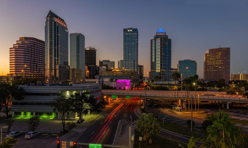 Florida Avenue Downtown Tampa, Tampa, Florida