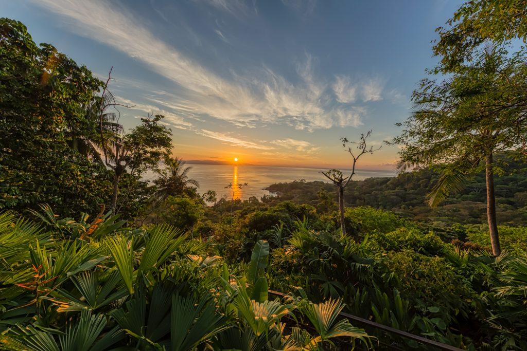 Lapa Rios Jungle Sunrise, Lapa Rios Ecolodge, Costa Rica