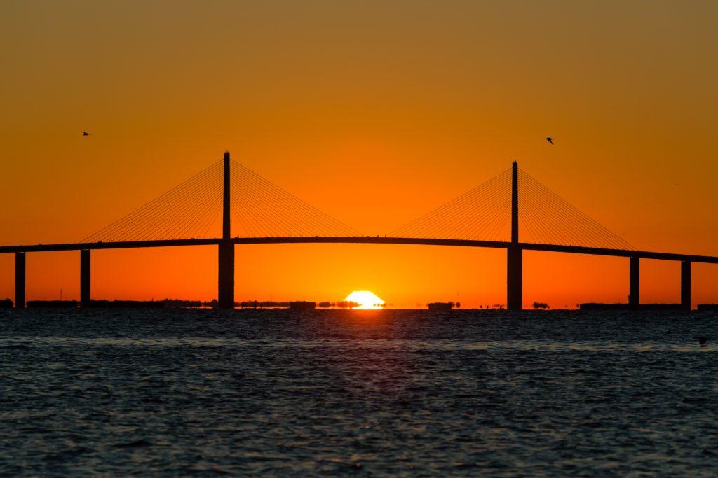 Skyway Sunrise 1, Fort Desoto, Tierra Verde, Florida