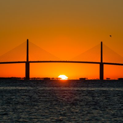 Skyway Sunrise 1, Fort Desoto, Tierra Verde, Florida