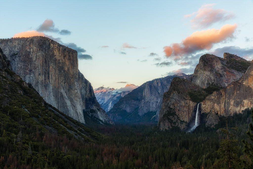 Tunnel View Sunset, Yosemite National Park, California