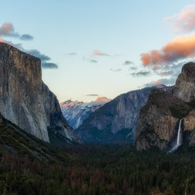 Tunnel View Sunset, Yosemite National Park, California
