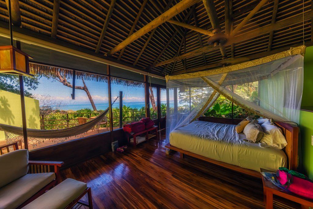 Our room at Lapa Rios, Osa Peninsula, Costa Rica