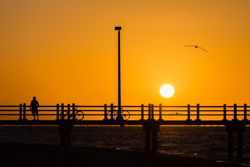 Sunrise Silhouettes, Fort Desoto, Tierra Verde, Florida