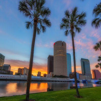 Tampa on Tilt corrected, Tampa, Florida