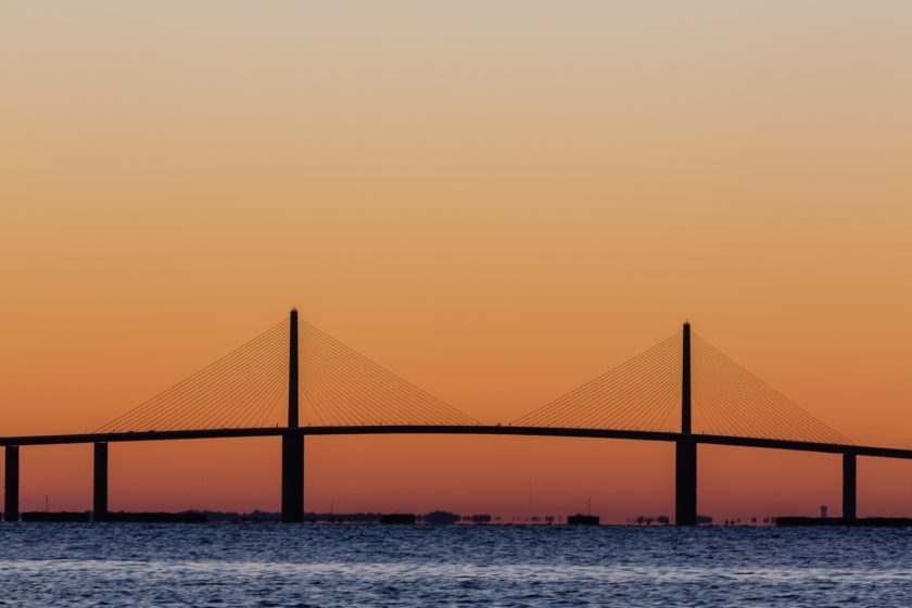 Sunshine Skyway Sunrise