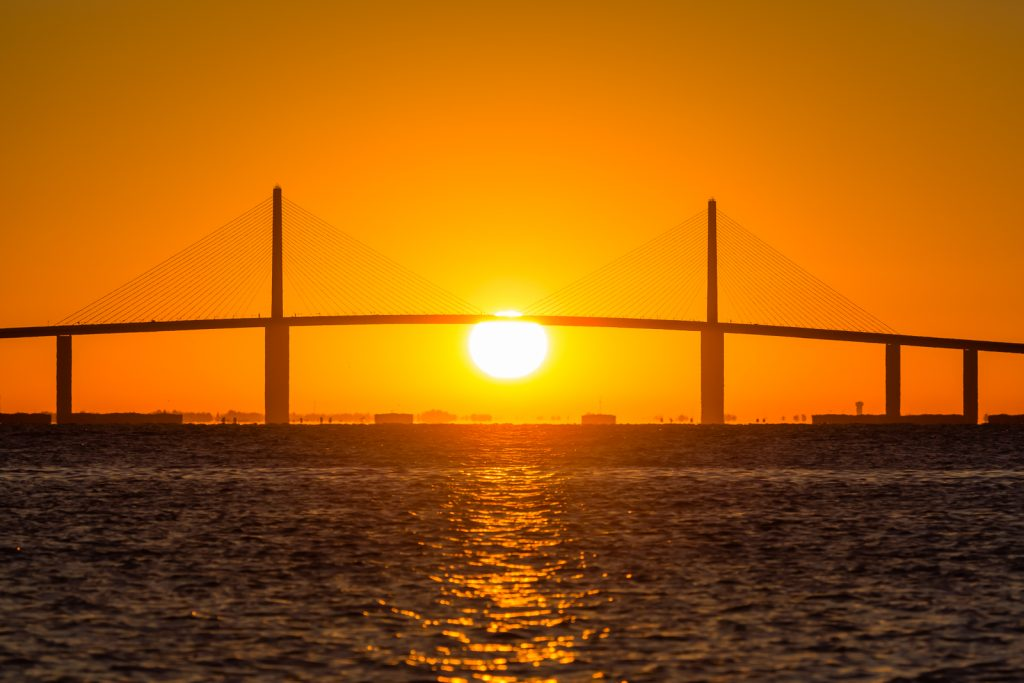 Skyway Sunrise 3, Fort Desoto, Tierra Verde, Florida