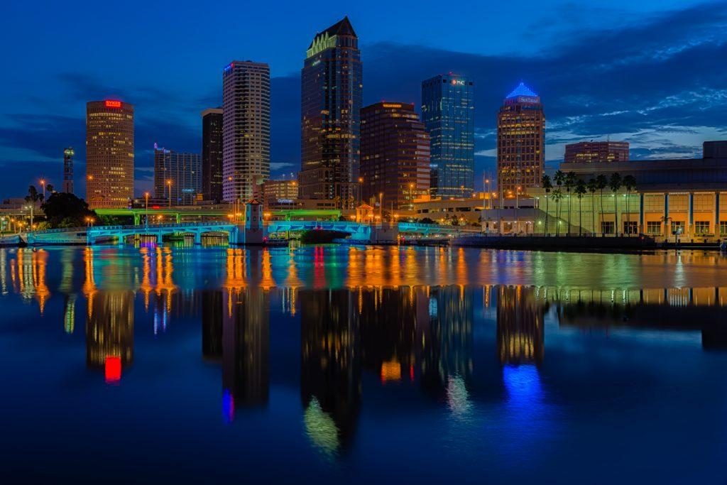 Tampa Classic Reflection - Exposure Blend, Tampa, Florida