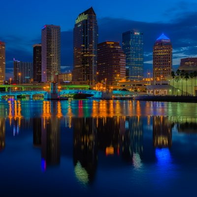 Tampa Classic Reflection - Exposure Blend, Tampa, Florida