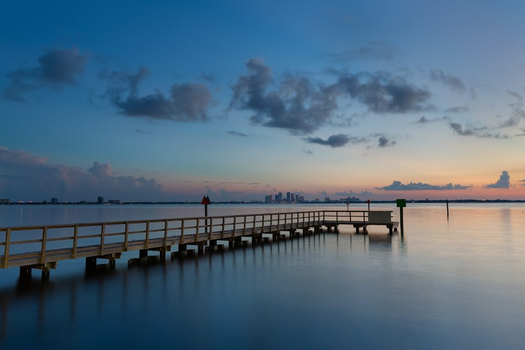 Ballast Point Short Pier and Tampa Sunrise, Tampa, Florida