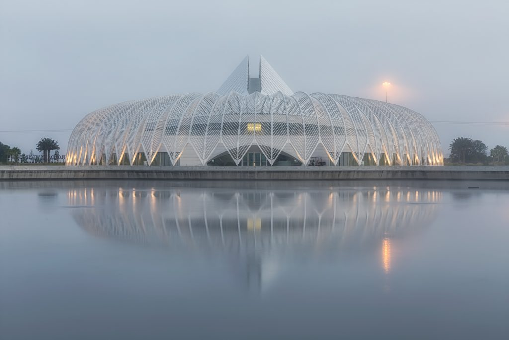 Florida Polytechnic University Symmetry in Fog, Lakeland, Florida