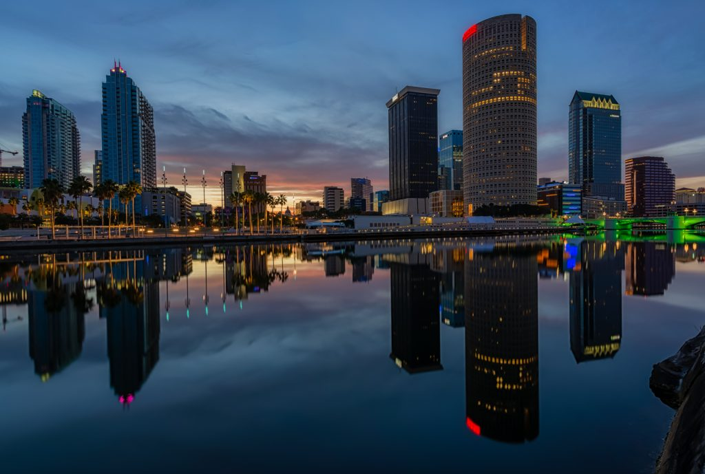 Reflected Morning in Tampa 2, Tampa, Florida
