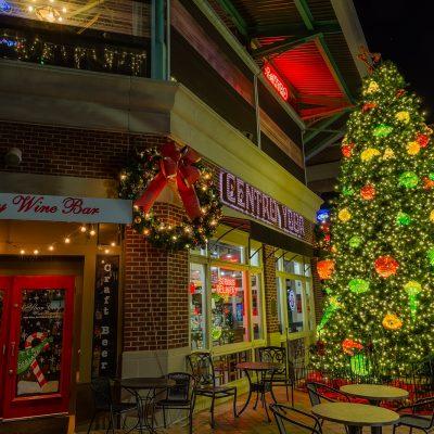 Centro Ybor Christmas Tree, Ybor City, Florida