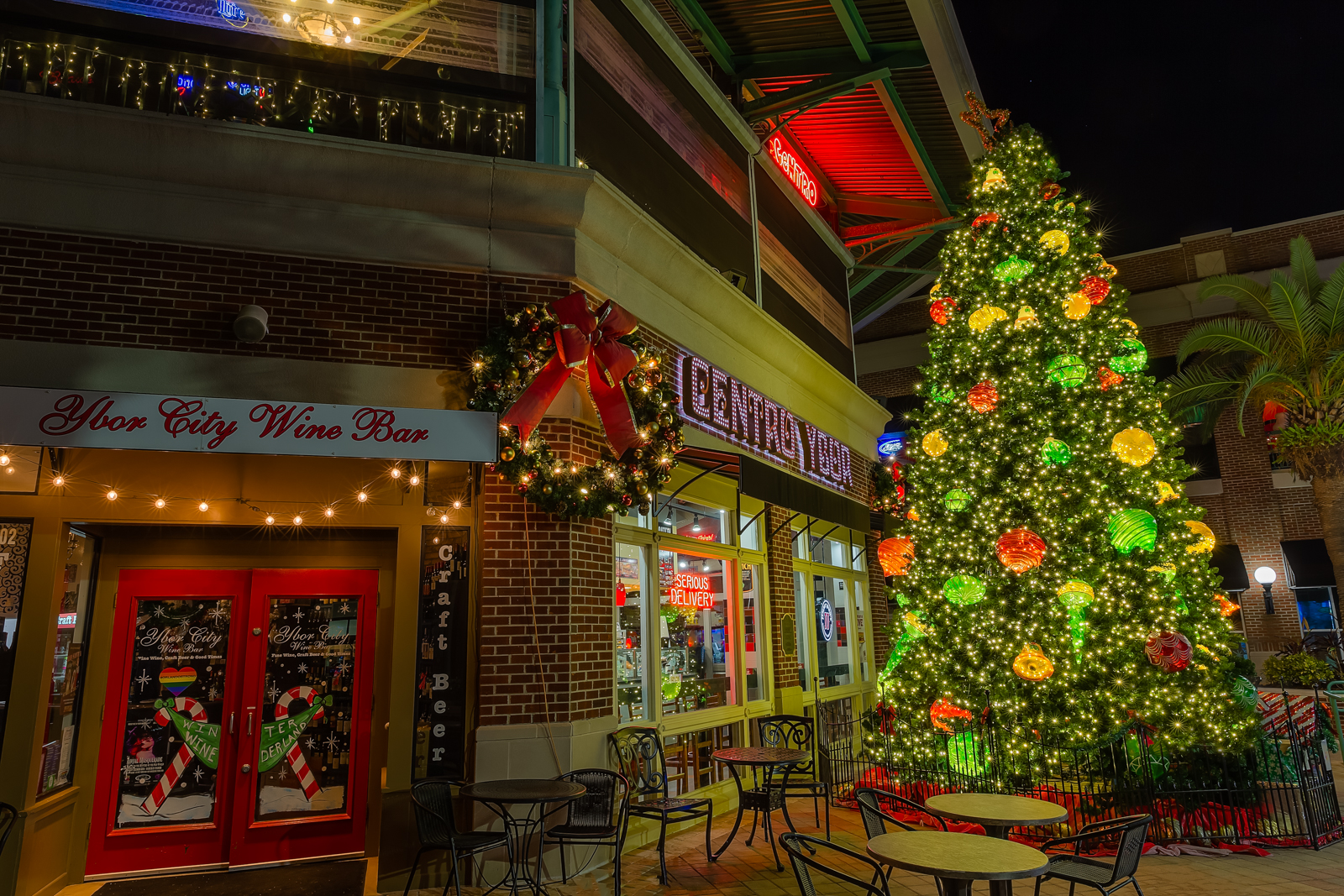 Christmas In Ybor City Matthew Paulson Photography