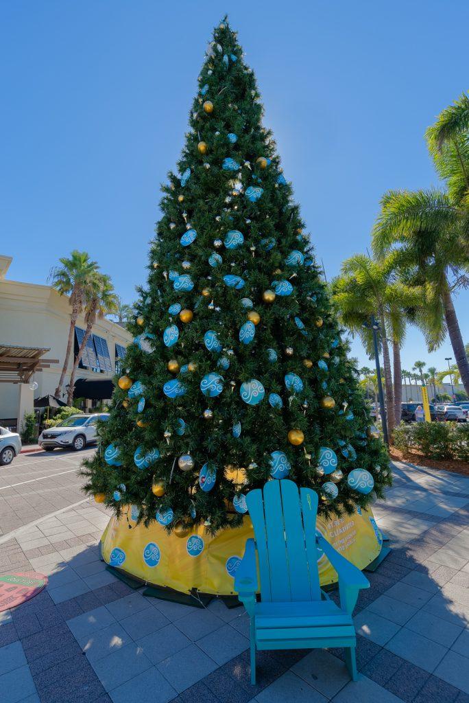 VSPC Christmas Tree at International Mall, Tampa, Florida