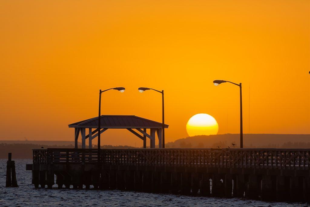 Ballast Point Pier Sunrise 3, Tampa, Florida