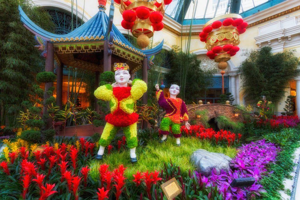Bellagio Conservatory Chinese Garden 2
