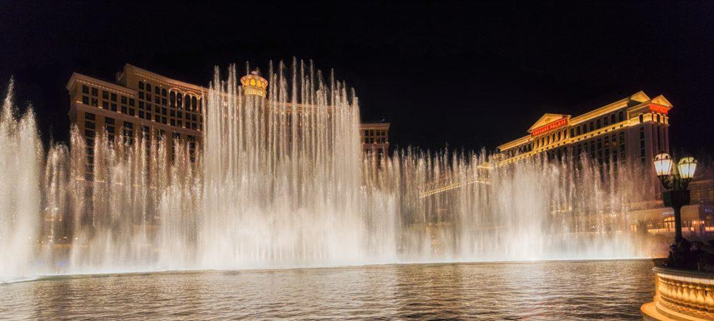Bellagio Fountain Finale