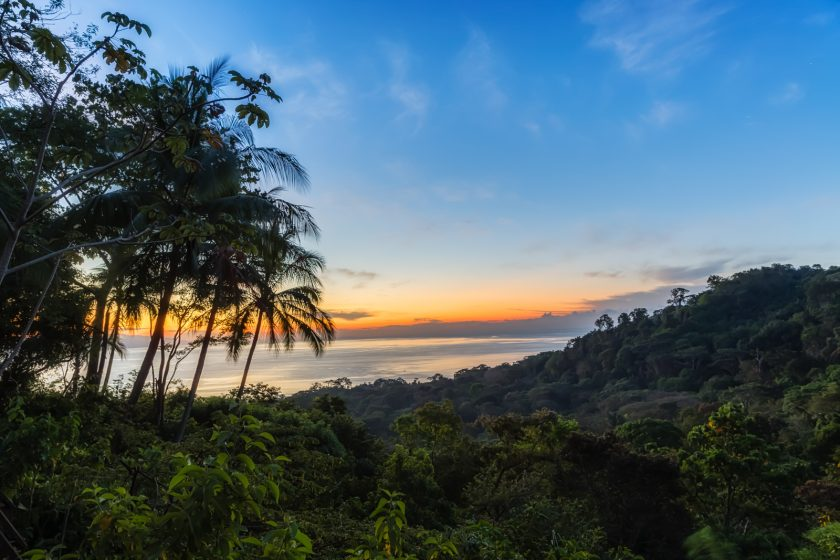 Lapa Rios Sunrise and Waterfall