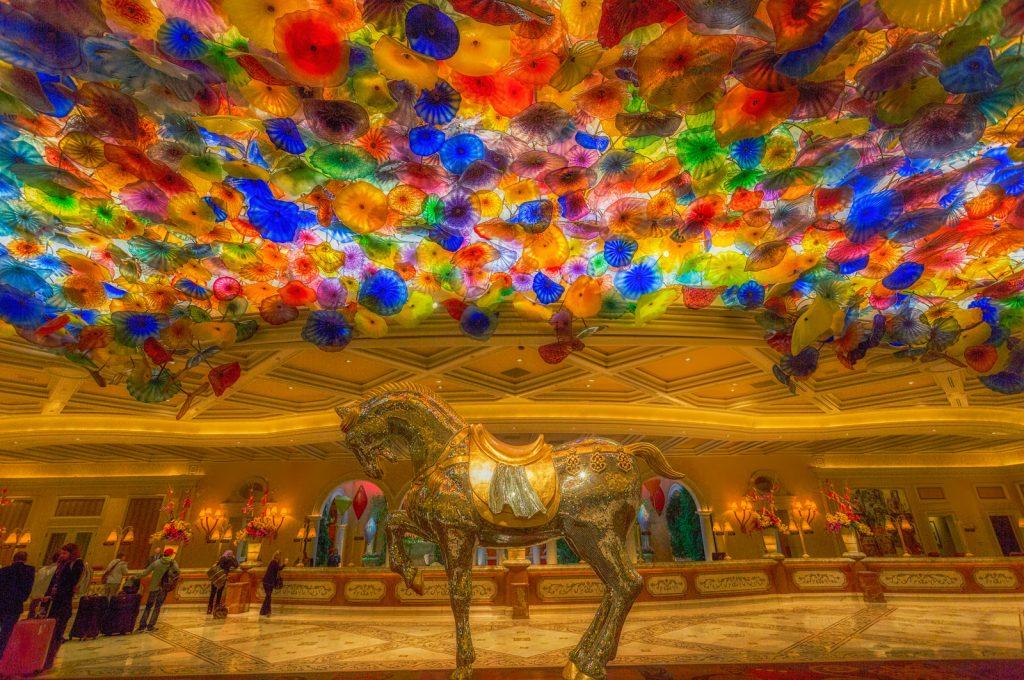 The Bellagio Lobby
