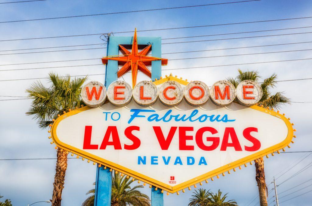 Vegas Sign Horizontal Tight