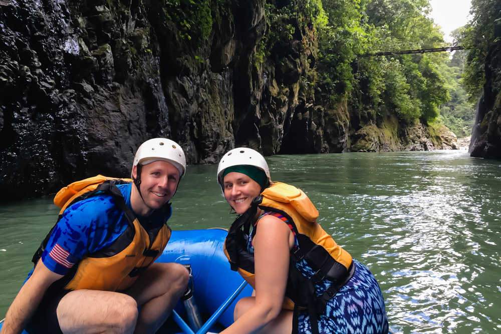 Whitewater Rafting out of Pacuare Lodge