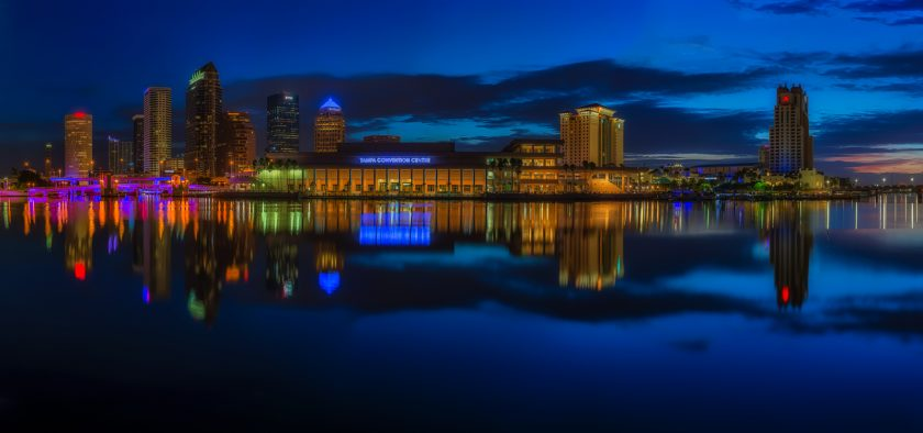 Tampa Blue Hour and Sunrise